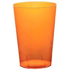 Bicchiere di Plastica Moon Arancione Trasp. PS 230ml (1000 Pezzi)