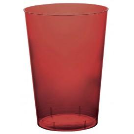 Bicchiere di Plastica Moon Bordeaux Trasp. PS 230ml (50 Pezzi)