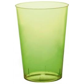 Bicchiere di Plastica Moon Verde Acido Trasp. PS 230ml (50 Pezzi)