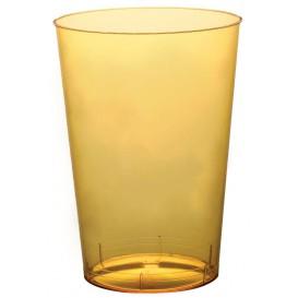 Bicchiere di Plastica Moon Giallo Trasp. PS 230ml (1000 Pezzi)