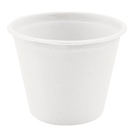 Coppetta Bio Canna Zucchero Bianco Ø95mm 425ml (50 Pezzi)