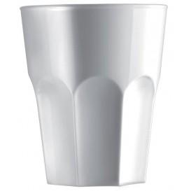 Bicchiere Riutilizzabile SAN Shot Bianco 40ml (72 Pezzi)