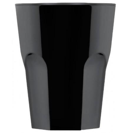 Bicchiere Riutilizzabile SAN Shot Nero 40ml (72 Pezzi)