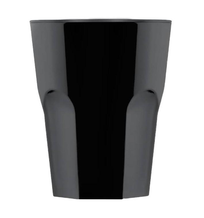 Bicchiere Riutilizzabile SAN Rox Nero 300ml (8 Pezzi)