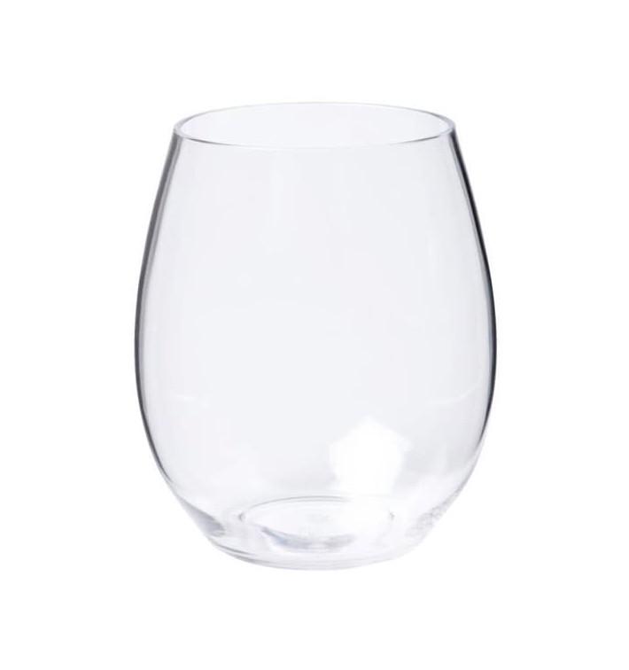 Bicchiere di Plastica Transparente Tritan 390ml (1 Pezzo)