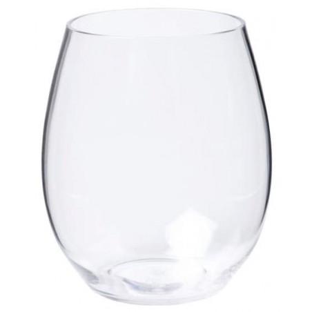 Bicchiere di Plastica Transparente Tritan 390ml (6 Pezzi)