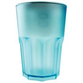 Bicchiere Plastica Arancione Trasparente SAN 400m(75 Pezzi)