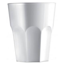 Bicchiere Riutilizzabili SAN Granity Bianco 400ml (75 Pezzi)
