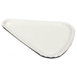 Piatto di Carta Bianca per Pizza 1/8 24x18cm (1000 Pezzi)
