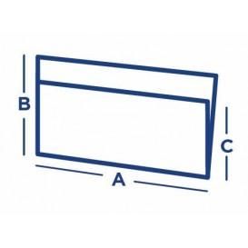 Sacchetto Carta Antigrasso Bianco 25x13/10cm (100 Pezzi)