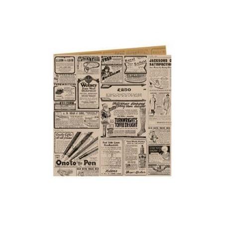 """Sacchetto di Carta Antigrasso """"Times"""" 16x16,5cm (500 Pezzi)"""