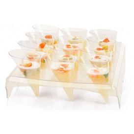 Stand per Bicchiere 12 Bucos Transp. 24x20x5,8cm (24 Unità)
