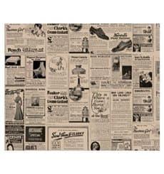 Carta Antigrasso Kraft Giornali 31x31cm (1000 Pezzi)