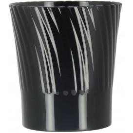 Bicchiere Plastica Degustazione Nero 165ml (12 Pezzi)