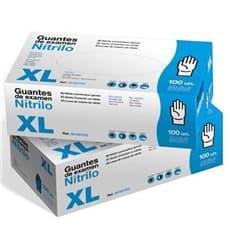 Guanti in Nitrile Senza Polvere Blu Taglia XL 3,5g (1000 Pezzi)