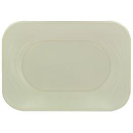 """Vassoio di Plastica PP """"X-Table"""" Perla 330x230mm (60 Pezzi)"""