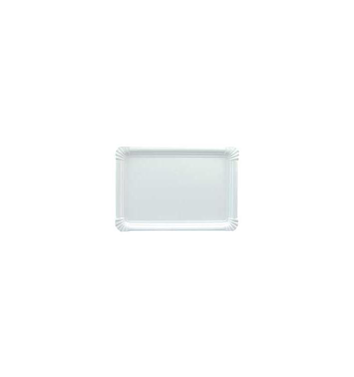 Vassoiodi Cartone Rettangolare Bianco 18x24 cm (600 Pezzi)