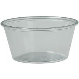 Contenitore per Salse rPET Glas 100ml Ø7,3cm (250 Pezzi)