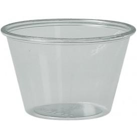 Contenitore per Salse rPET Glas 120ml Ø7,3cm (250 Pezzi)