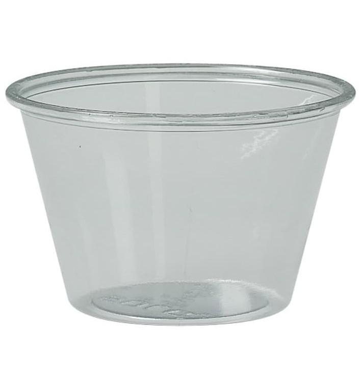 Contenitore per Salse rPET Glas 120ml Ø7,3cm (2500 Pezzi)