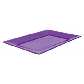 Vassoio Plastica Lilla 330x225mm (25 Pezzi)