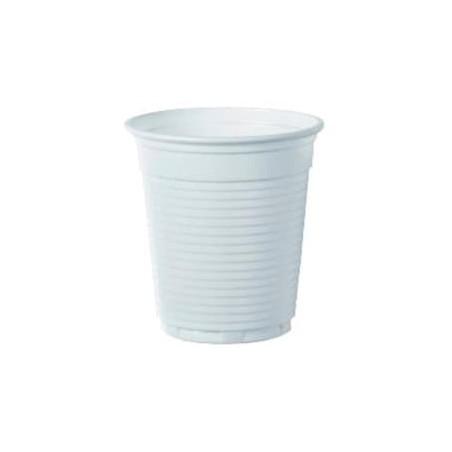 Bicchiere Plastica PS Vending Bianco 166ml (100 Pezzi)