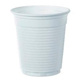 Bicchiere Plastica PS Vending Bianco 166ml Ø7,0cm (3000 Pezzi)