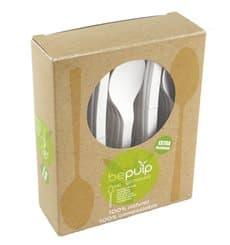 Cucchiaio Bio CPLA Bianco 155mm imballaggio (500 Pezzi)
