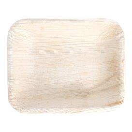 Vassoi Rettangolare in Foglia Palma 16x12,5x3 cm (25 Pezzi)