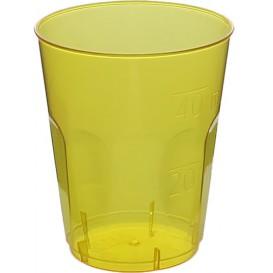"Bicchiere Plastica ""Diamant"" PS Giallo Transp. Cristal 50ml (20 Uds)"