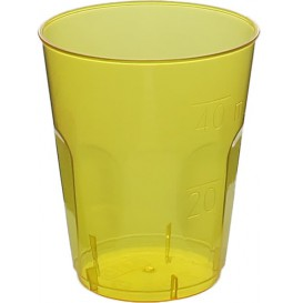 "Bicchiere Plastica ""Diamant"" PS Giallo Transp. Cristal 50ml (600 Uds)"