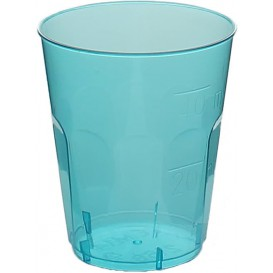 "Bicchiere Plastica ""Diamant"" PS Blu Transp. Cristal 50ml (20 Pezzi)"