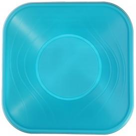 "Ciotola Plastica PP ""X-Table""  Turchese 18x18cm (120 Pezzi)"
