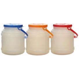 Bottiglia Cilindrica Traslucida 500ml (100 Pezzi)