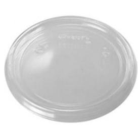 Coperchio Plano di Plastica Trasparente Ø7,4cm (100 Pezzi)