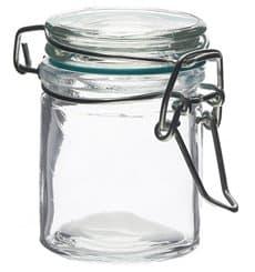 Barattolo di Vidrio Plastica Stagna 45 ml (24 Pezzi)