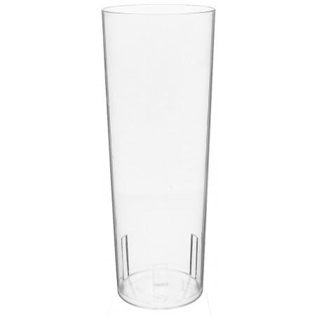 Bicchiere di Plastica Vetro PS 330 ml (10 Pezzi)