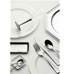 Cucchiaio di Plastica Metallo 175mm (10 Pezzi)