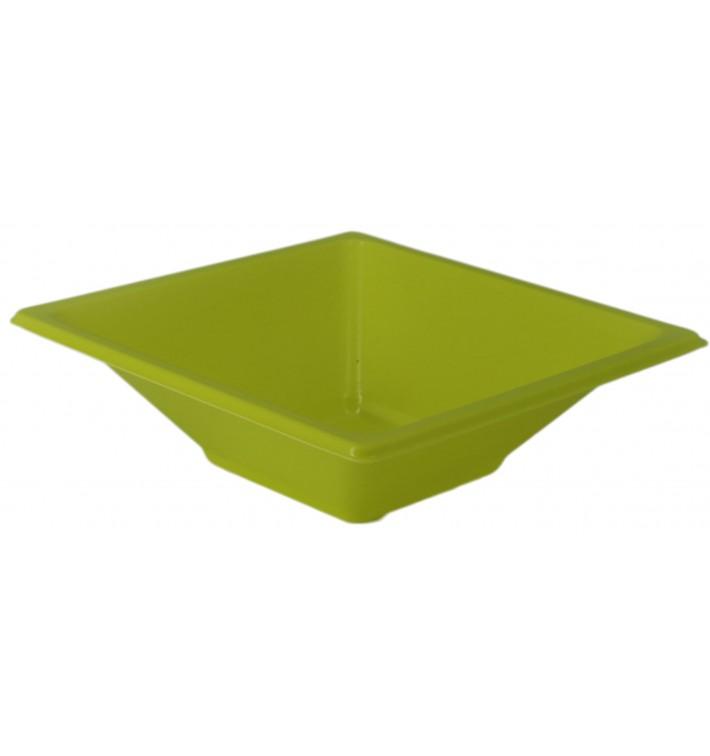 Ciotola Plastica PS Quadrato Pistacchio 12x12cm (1500 Pezzi)
