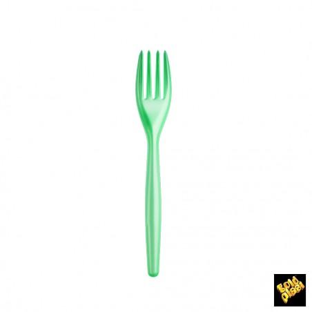 Forchetta di Plastica Easy PS Tiffany Perla 180 mm (20 Pezzi)