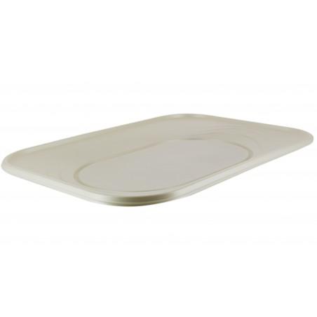 """Vassoio di Plastica PP """"X-Table"""" Perla 330x230mm (2 Pezzi)"""