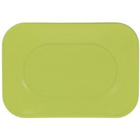 "Vassoio di Plastica PP ""X-Table"" Lime 330x230mm (60 Pezzi)"