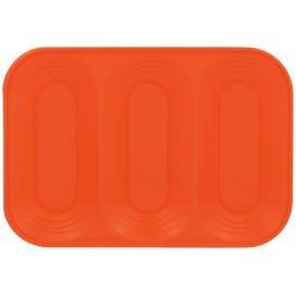 "Vassoio di Plastica PP ""X-Table"" 3C Arancione 330x230mm (2 Pezzi)"