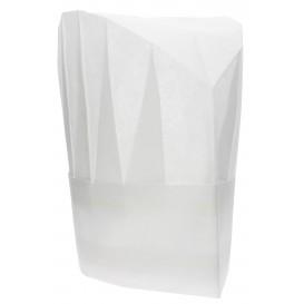 Cappello TNT di Polipropilene Continental Bianco (10 Pezzi)