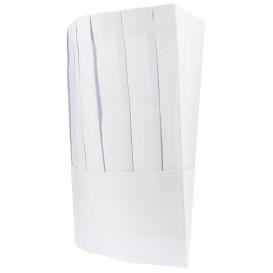 Cappello Cuoco Chef Carta Bianco (100 Pezzi)