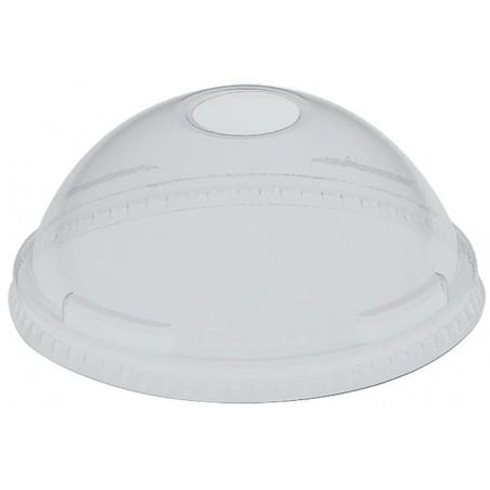 Coperchio Cupola Buco Coppette Pet 5oz/8oz/9oz (100 Pezzi)