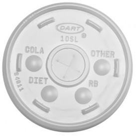 Coperchio a Croce Bicchiere Termico Ø9,4cm (100 Pezzi)