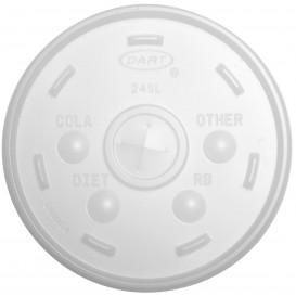 Coperchio Croce Bicchiere Termici EPS Ø9,9cm (100 Pezzi)
