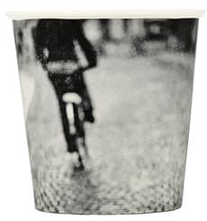 """Bicchiere di Carta 4Oz/120ml """"Parisian"""" Ø6,2cm (50 Pezzi)"""