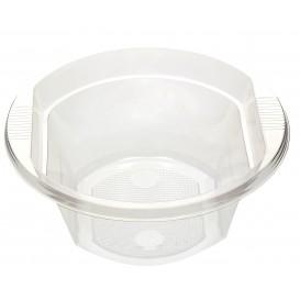 Ciotola di Plastica PS Trasparente 630ml (10 Pezzi)